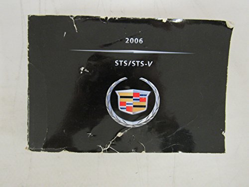 2006 Cadillac STS / STS-V Owners Manual Guide Book