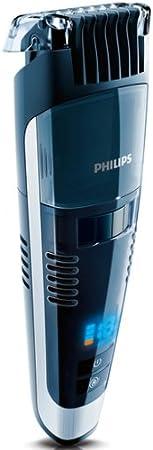 Philips BEARDTRIMMER Series 7000 Barbero con sistema de aspiración ...