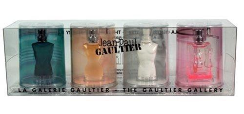 The Gaultier Gallery Mini Coffret: Le Classique Ma Dame Le Male Fleur Du Male - 4pcs - 0.1 Ounce Edt Mini