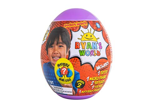 RYAN'S WORLD Mini Mystery Egg, Series 2, Purple