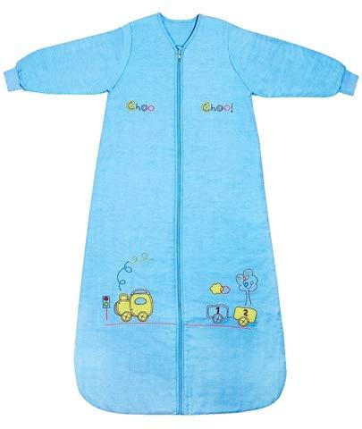 Slumbersafe Kid Sleeping Bag Long Sleeves 2.5 Tog - Choo Choo, 3-6 -