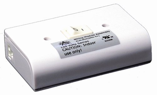 American Lighting ALSLBOX BK B Slim Line Hardwire