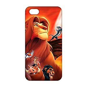 lion king cartoon 3D For Ipod Touch 4 Phone Case Cover