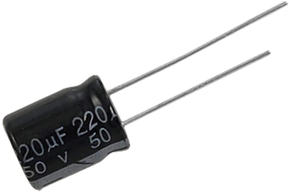 20 Unidades de Condensador Electrolitico Polarizado 220uF 220mf 20 Movilideas