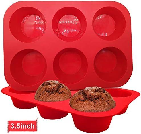 WALFOS Free Silicone Jumbo Cupcake