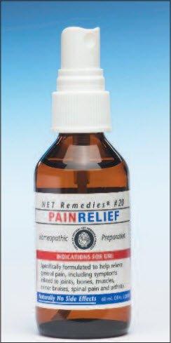 NET Remedies #20 Pain Relief (59ml)