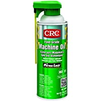 CRC 03081 General Purpose Food Grade Machine Oil Spray, (Net Weight: 11 oz.) 16oz Aerosol by CRC
