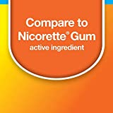 Amazon Basic Care Coated Nicotine Polacrilex Gum, 2 mg (nicotine), Fruit Flavor, Stop Smoking Aid, 160 Count