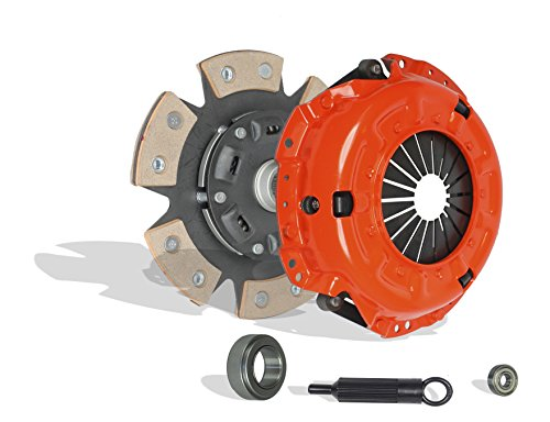 Clutch Kit Works With Toyota Celica Corona Pickup Gt Gts St Supra Le Sr5 1978-1983 2.4L l4 GAS SOHC Naturally Aspirated (Engine: 22R; Engine: 20R; Hi-Lux, Model #RN 32, RN 42; 6-Puck Disc Stage 2)