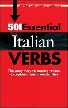 501 Essential Italian Verbs (Dover Language Guides Italian)