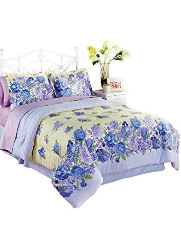(Carol Wright Gifts Olivia Comforter Set - Queen, Color Yellow, Size Queen, Yellow, Size Queen)