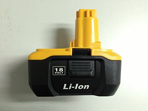 Rechargeable DC9180 3A Lithium Li-ion Battery 3a 3.0 a 3amp Replace for Dewalt Dc9180 18v 3a High Capacity Also Can Replace for Dc9096 Using Charger Dc9310 Cordless Tools Drills Battery Batteria -  CEM WORLD
