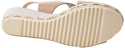XTI Damen 47655 Peeptoe Sandalen Pink (Nude)