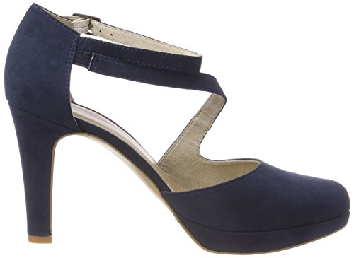 S Bride oliver Cheville Bleu Femme Escarpins 24402 navy UqUvzwrT