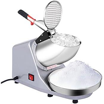 Goplus Electric Ice Crusher, Ice Shaver Machine, Snow Cone Maker, Shaved Ice Machine, 143 Lbs