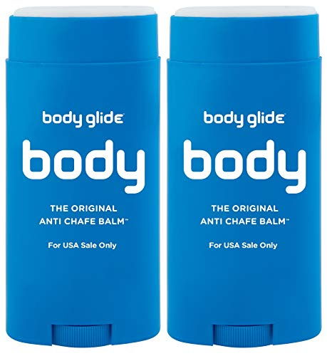Body Glide Original Anti-Chafe Balm, 2.5oz, Pack of 2