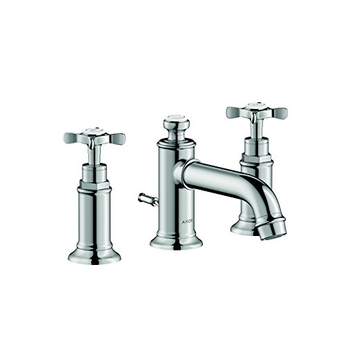 AXOR AXOR Montreux  Classic 2-Handle  5-inch Tall Bathroom Sink Faucet in Chrome, 16536001