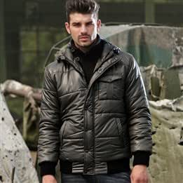 [The AK men] AKseries new military models light fabric windproof warm hooded short padded jacket