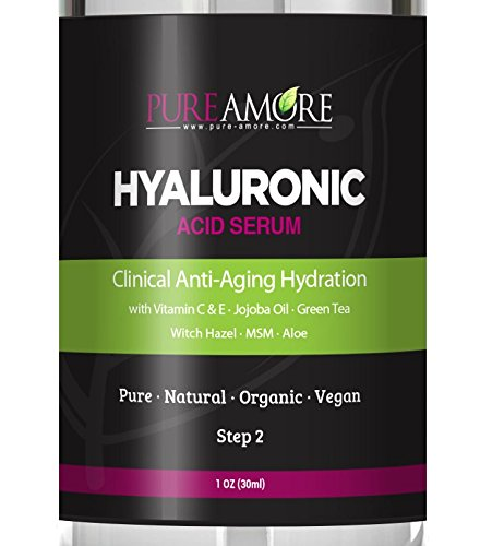 CLINICAL STRENGTH Hyaluronic Organic Pure