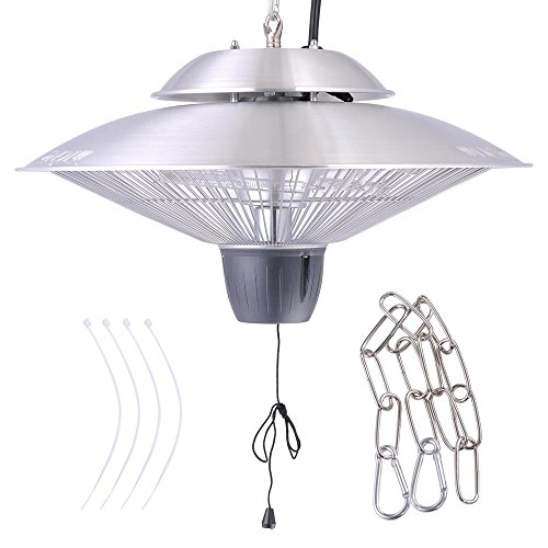 Yescom Electric Aluminium Hanging Halogen