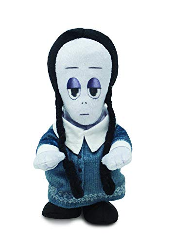 Epic Halloween Decorations (Cuddle Barn | Addams Family Animated Plush Collectible | Fun Walking Doll Toy for Movie Fans and Halloween | Plays The Addams Family Theme Song ... (Wednesday)