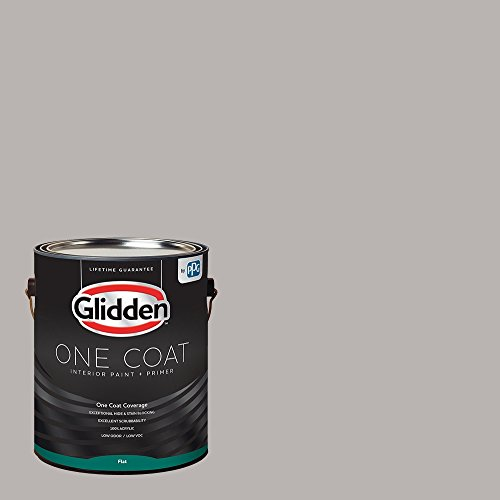 Glidden Interior Paint  Primer: Gray/Gray Marble One Coat Flat 1Gallon