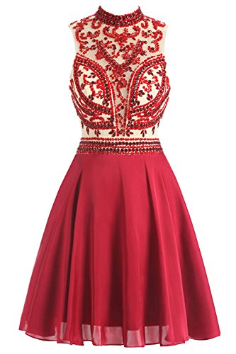 cheetah and red prom dresses - 3