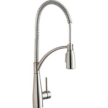 Elkay LKAV4061LS Avado Lustrous Steel Single Lever Kitchen Faucet