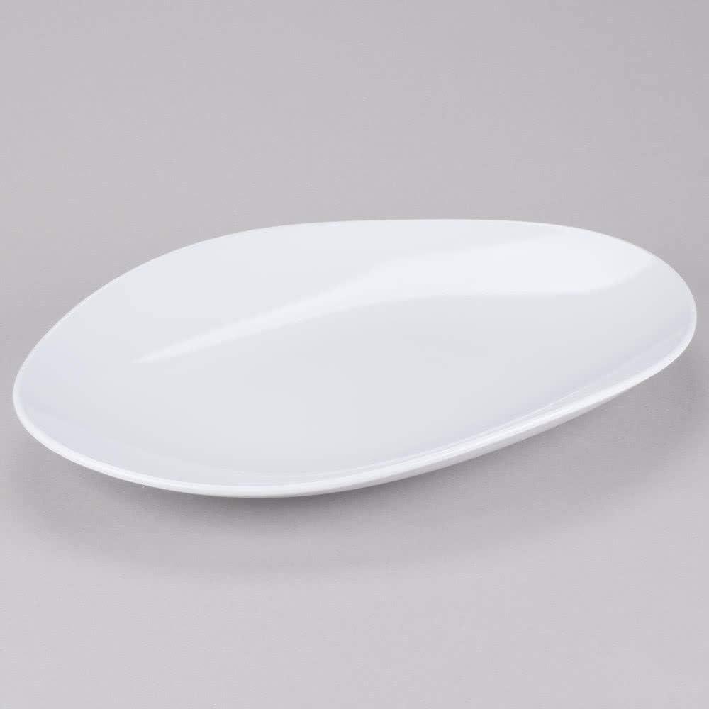 18 x 13 Osslo Oval Display & Serving Platter White G.E.T. Enterprises OP-1813-W (Qty 1) [並行輸入品]