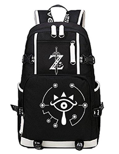 YOYOSHome Luminous Anime The Legend of Zelda Cosplay Bookbag College Bag Daypack Backpack School Bag - Legend Of Zelda Skyward Sword Costume