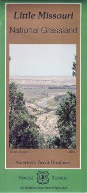 Little Missouri National Grassland Map PDF