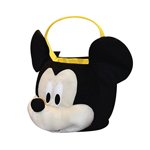 Disney Mickey Mouse Plush Basket, Medium Disney Easter Baskets