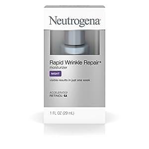 Neutrogena Rapid Wrinkle Repair Night Moisturize With Retinol, 1 Fl. Oz.