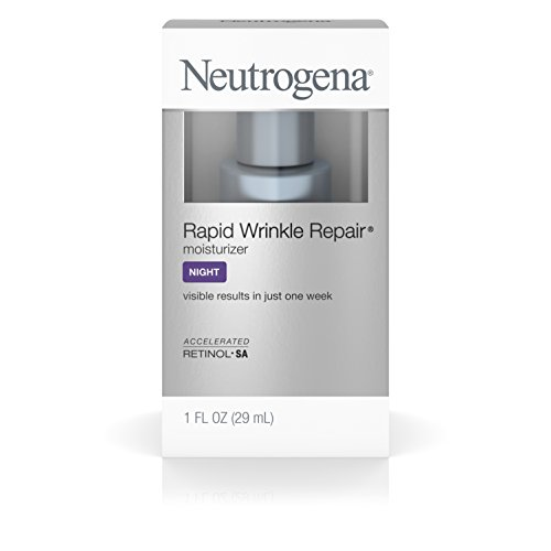 : Neutrogena Rapid Wrinkle Repair Night Moisturize With Retinol, 1 Fl. Oz.