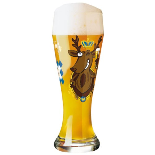 Ritzenhoff 1020156 Weizenbierglas Stockebrand (Hirsch) H12