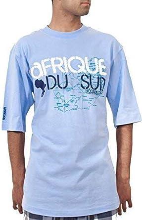 Rocawear Camiseta de verano para hombre, diseño de estrellas africanas: Amazon.es: Ropa y accesorios