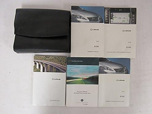2010 lexus es 350 owners manual guide book water damage amazon rh amazon com lexus es 350 owners manual 2014 lexus es 350 owners manual 2015
