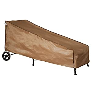 Abba Patio Weatherproof Outdoor/Porch Chaise Lounge Cover, Water Proof, Tan by Abba Patio