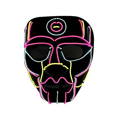 LED Mask Light Mask Year Festival Cosplay Halloween Costume Party LED Mask ()