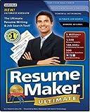 Software : Resumemaker Ultimate 5