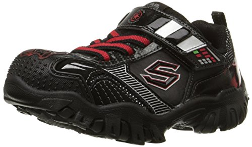 "Skechers Star Wars Boys ""hipernova luminoso Zapatillas Negro"