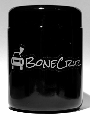 BoneCruz 250ml Protected Storage Jar and Smell Proof Herb Container