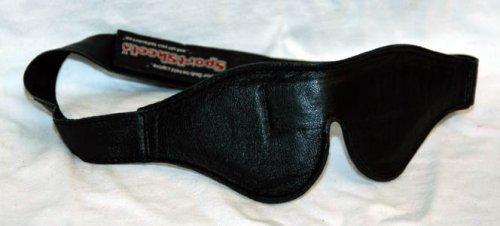 UPC 845600045903, Premium Sleep Eye Mask Black Leather