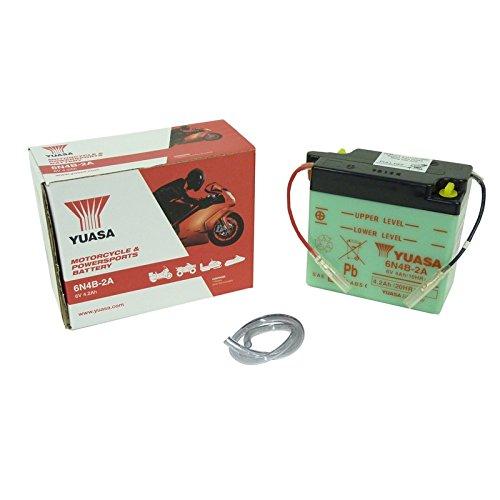 YUASA batterij 6N4B-2A open zonder zuur