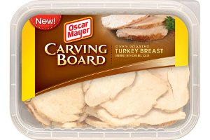 - OSCAR MAYER LUNCH MEAT COLD CUTS CARVING BOARD OVEN ROASTED TURKEY BREAST 7 OZ PACK OF 3