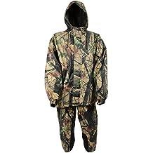 Milwaukee Men's Jungle Camouflage Performance Rain Suit (Jungle, 5X-Large)