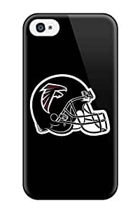Iphone 4/4s NGzsiTO266YvjiT Atlanta Falcons Helmet Tpu Silicone Gel Case Cover. Fits Iphone 4/4s