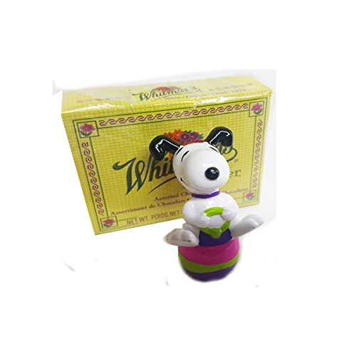 Peanuts Whitman's Snoopy EASTER Egg Bouncy Figure & Whitman'