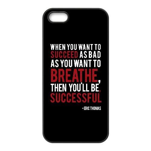 Lorsque vous voulez réussir WQ66LN2 coque iPhone 4 4s cellulaire cas de téléphone E6QB7X2BS Coque