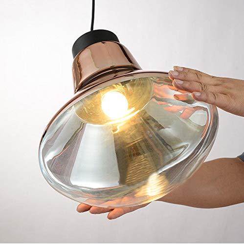 FidgetFidget Modern Tom Copper Glass LED Pendant Lamp Suspension Light Chandelier Lighting by FidgetFidget (Image #3)